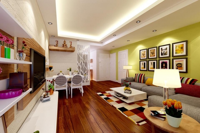 Đèn LED âm trần cho phòng khách có những dòng nào?