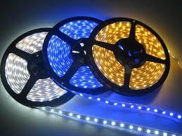 Đèn led dây đơn sắc trong nhà