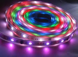 Đèn led dây nhiều màu sử dụng dưới nước