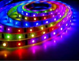 Đèn led dây nhiều màu trong nhà